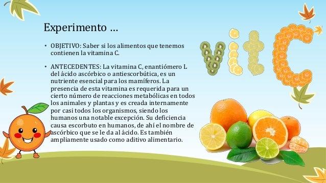 Vitamina c - Que alimentos contienen vitamina c ...
