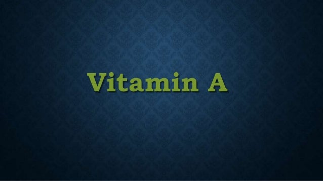 Making History With Vitamin C Powerpoint: Vitamin A And Vitamin E