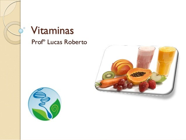 Vitaminas Profº Lucas Roberto