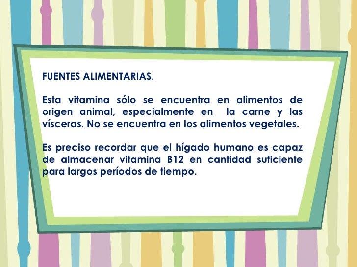 Vitaminas hidrosolubles ii - En que alimentos esta la vitamina b12 ...
