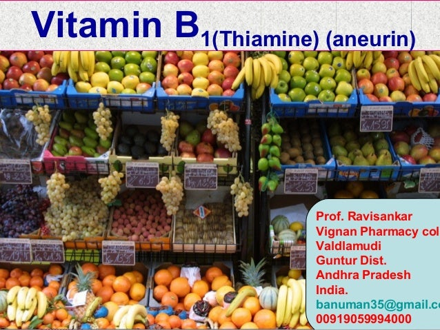 WATER SOLUBLE VITAMINSThe common features to most of vitamin B complex have been outlined below:-•Cannot be stored in body...