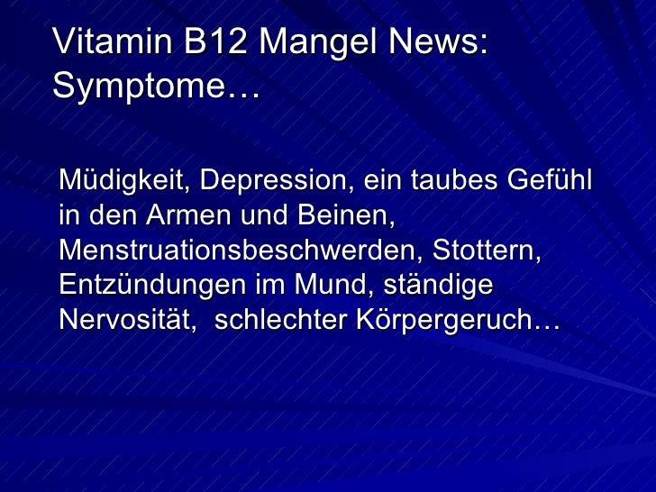 vitamin b12 mangel vitamin b12 mangel symptome. Black Bedroom Furniture Sets. Home Design Ideas