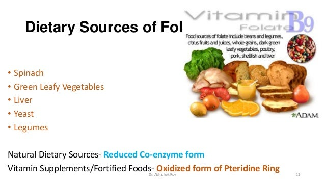 Foods High In Iron Vitamin B Folate