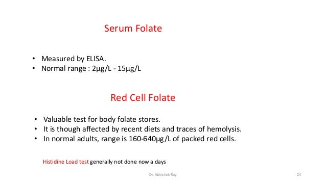 Vitamin B12 and folate - Lab Tests Online AU - Folate and vitamin