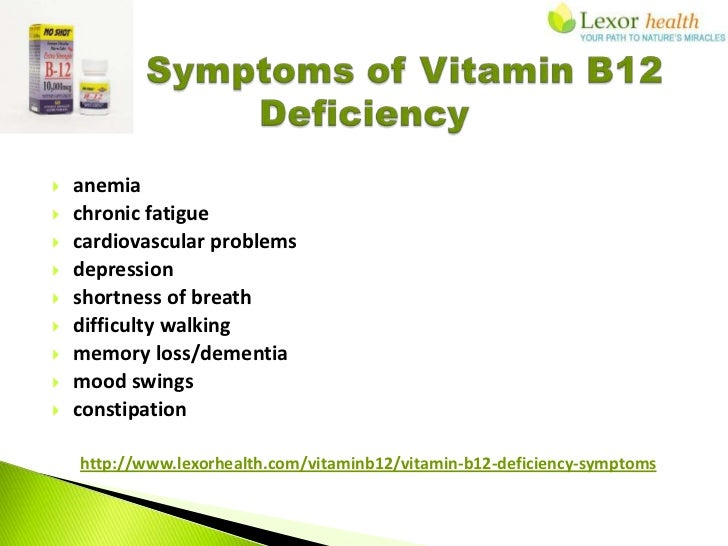 Vitamin B12 Cyanocobalamin Supplements Lexor Health B12 Deficiency Symptoms