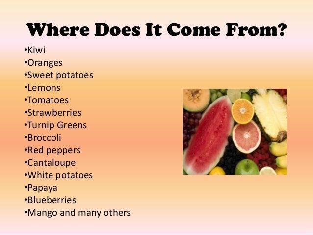 where are vitamin c found