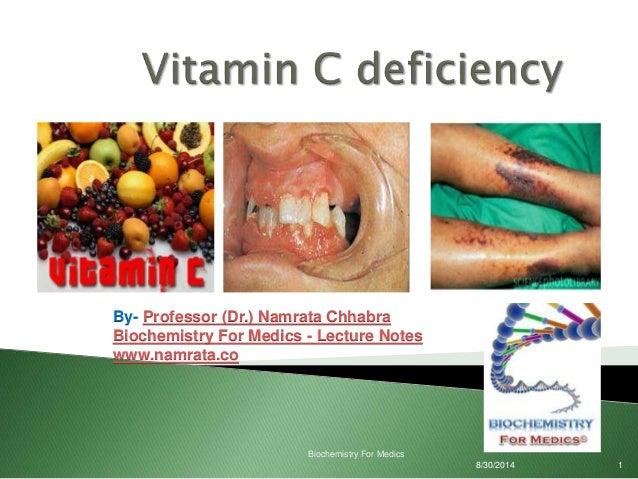 vitamine c deficientie
