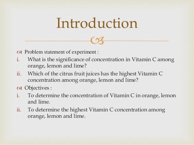 science fair project vitamin c test Vitamin science science project: vitamin science test your food samples for vitamin c content (see link #1 below) contact lennetch directly or indirectly, caused by your use of such information by accessing the science fair project ideas.