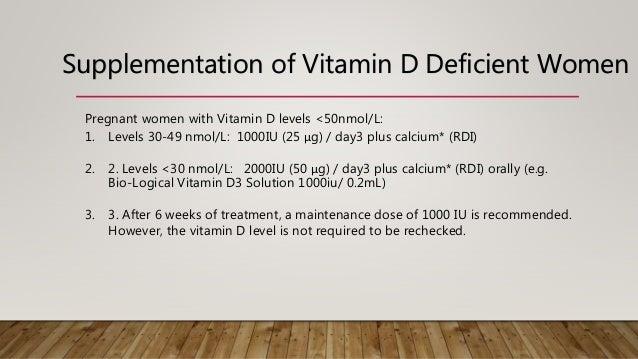 Vitamin D Deficiency During Pregnancy >> Vitamin D In Pregnancy