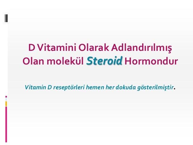 Vitamin d güncelleme 2013 Slide 2