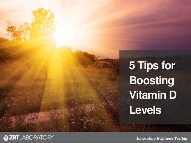 5 Tips for Boosting Vitamin D Levels