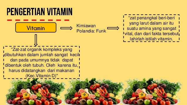 Vitamin Larut Dalam Lemak