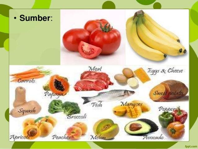 Vitamin, mineral dan air + uji makanan