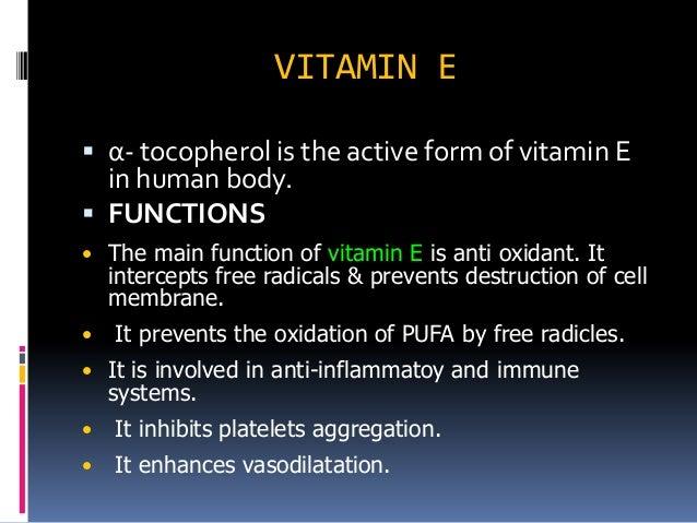 Vitamins ii