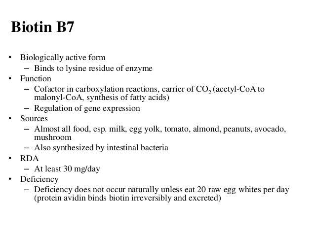 Vitamins B complex