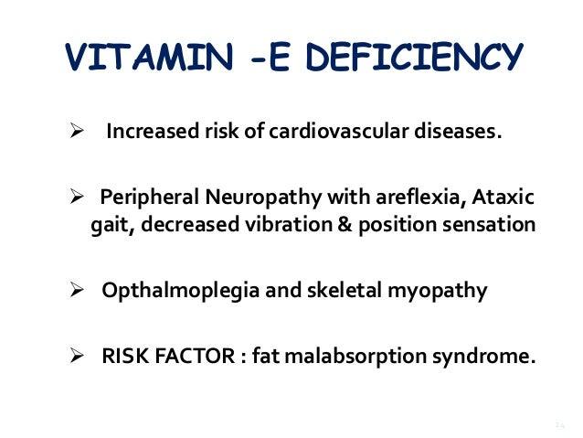 Vitamins & deficiency diseases