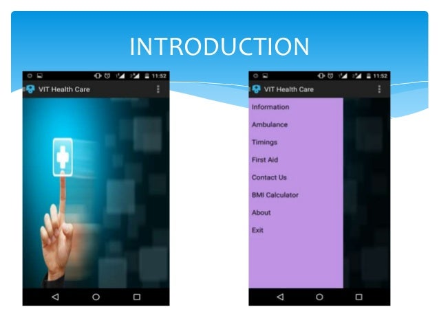 health care application in android