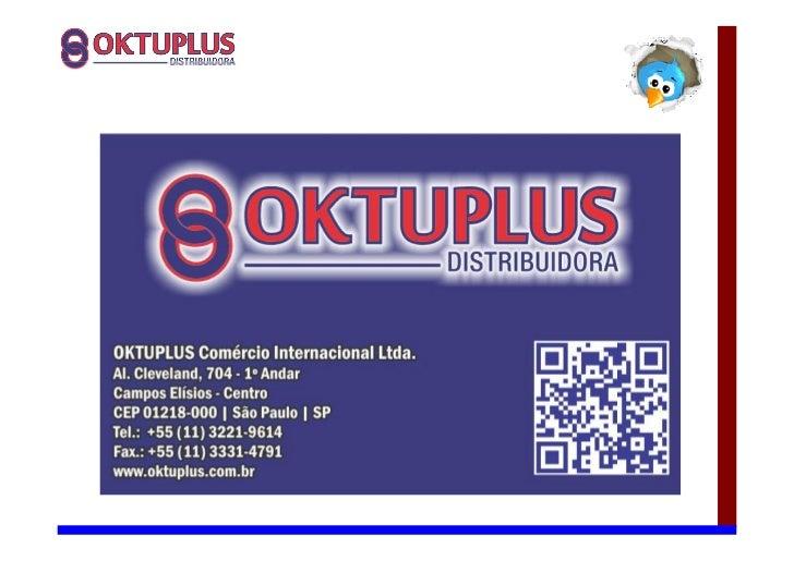 Porque com a OKTUPLUS!? Linha Segurança Eletrônica           CFTV