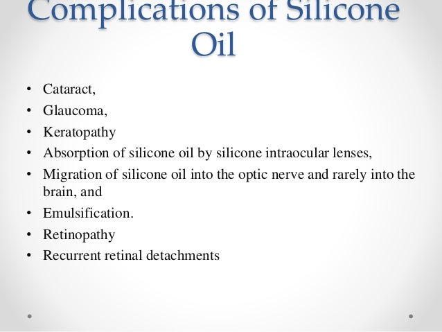 Vitreous substitutes
