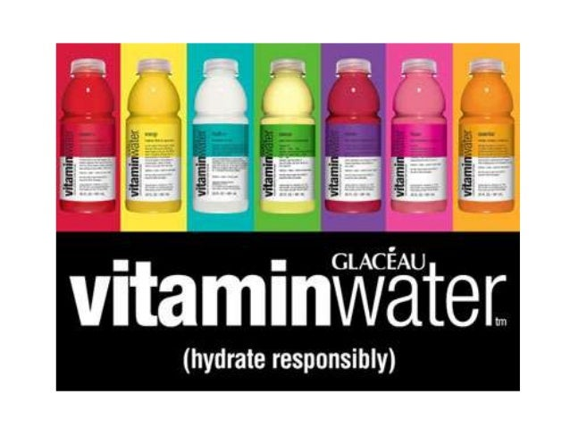 """What does the brand stand for? (brand essence) • Health, vitality, enhanced water, enhanced lifestyle, trendy • """"Not your ..."""