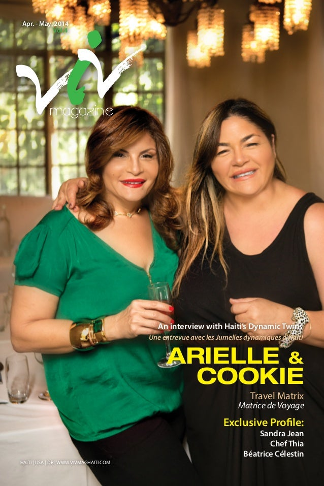 ARIELLE & COOKIE Travel Matrix Exclusive Profile: Sandra Jean Chef Thia Béatrice Célestin Matrice de Voyage Une entrevue a...