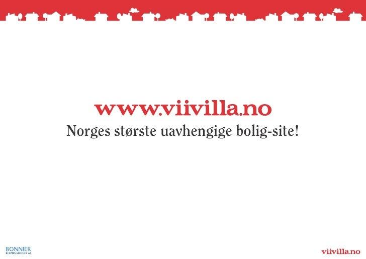 Norges største uavhengige bolig-site!