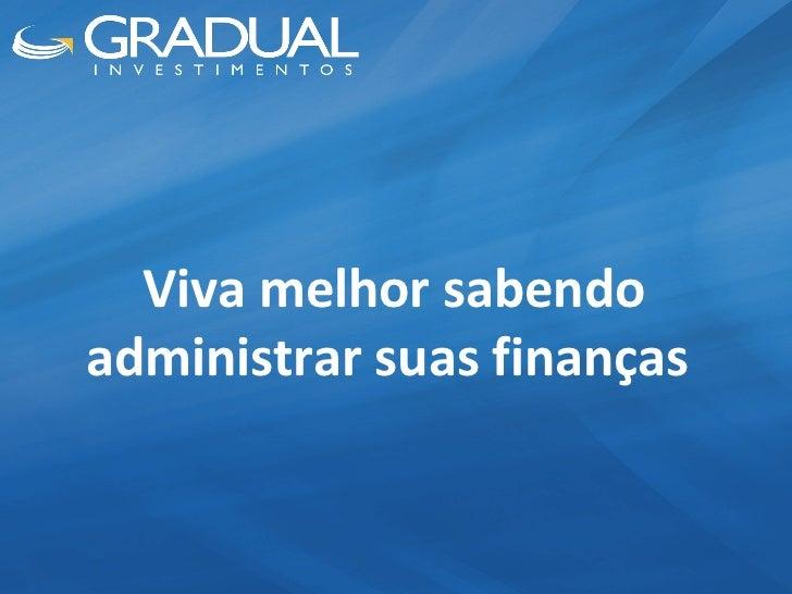 Curso de Finanças Pessoais Slide 2