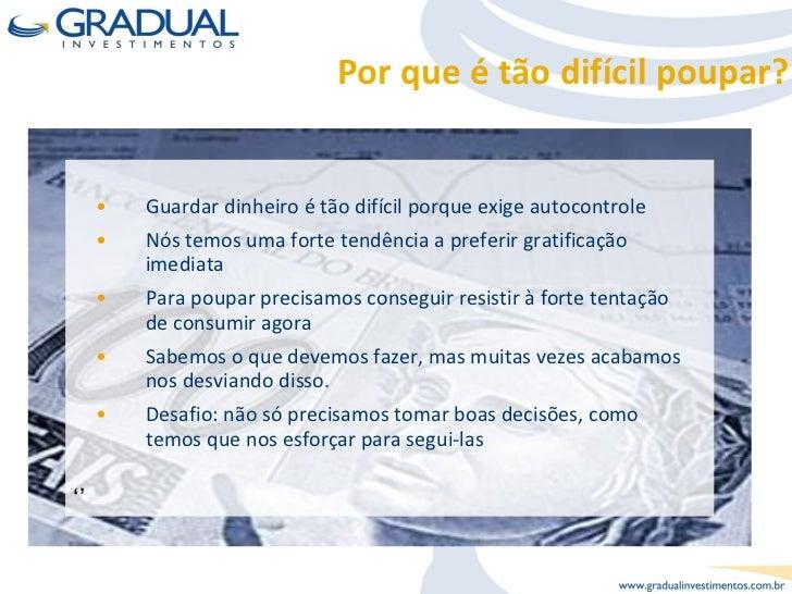 Curso de Finanças Pessoais Slide 3