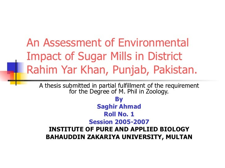 msc thesis on environmental education