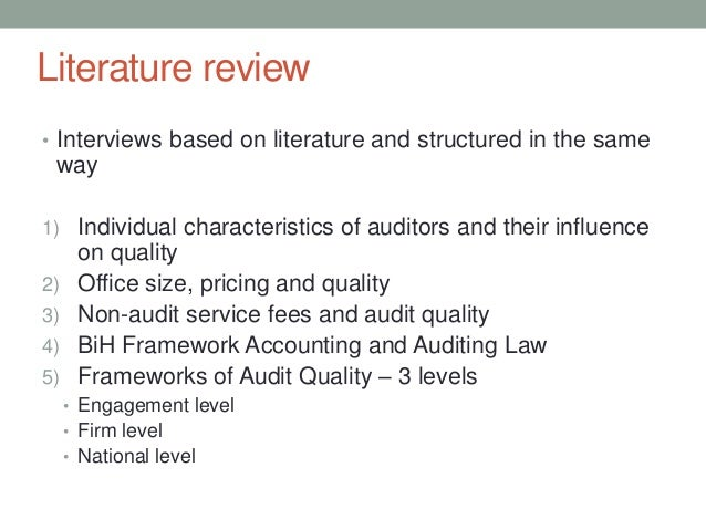 AUDIT FIRM SIZE, AUDIT FEE AND AUDIT QUALITY