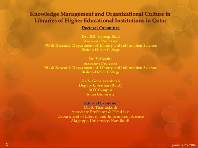knowledge management and organizational culture toward Keywords: knowledge management, organizational culture, leadership,  strategies,  of leadership and strategy to organizational effectiveness then, the .