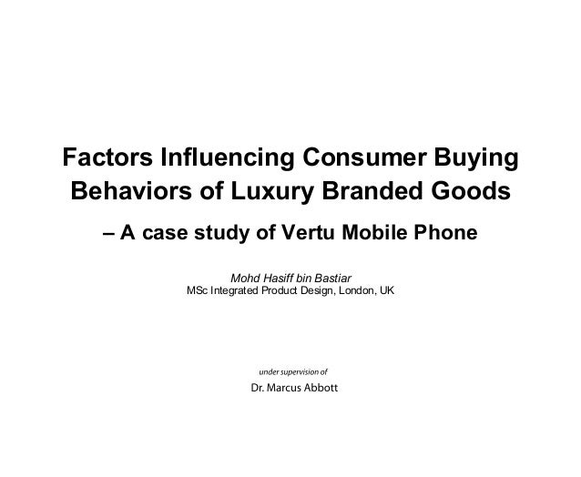 factors influencing buying behaviour of counterfeit luxury products Towards purchasing counterfeit of luxury brands and buys counterfeit products and thus 'factors influencing buying behaviour of piracy.