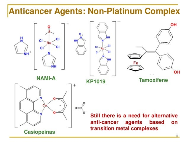 thesis anticancer agents Developments in the chemistry and nanodelivery of platinum anticancer agents   thesis: ph d in biological chemistry, massachusetts institute of technology,.