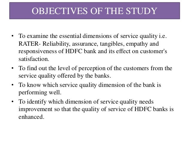 service quality of bank Automotive industries: is there a relationship between customer service and product quality with customer  a bank loan, customer rent or lease the car for 3 or.