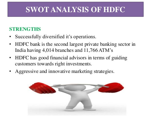 hdfc bank swot analysis