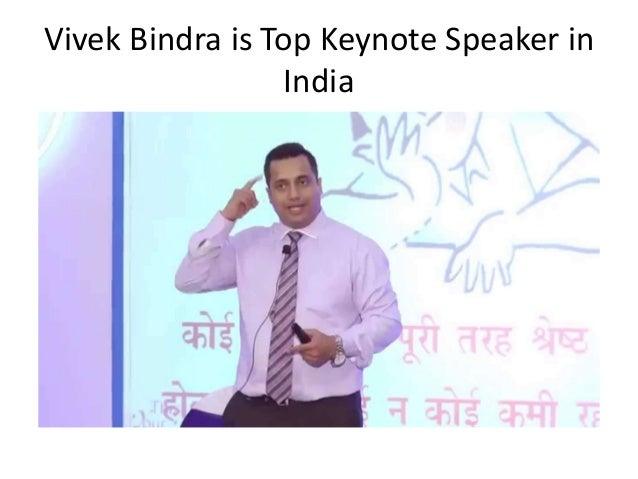 Vivek Bindra is Top Keynote Speaker in India