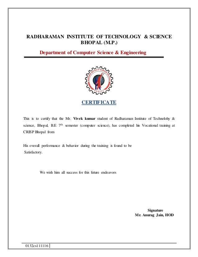 Engineering training certificate format yeniscale engineering training certificate format yelopaper Gallery