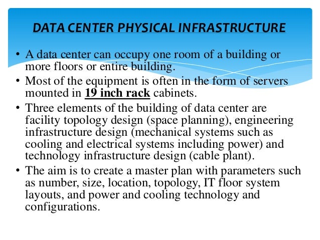 Power Point Presentation On Data Center