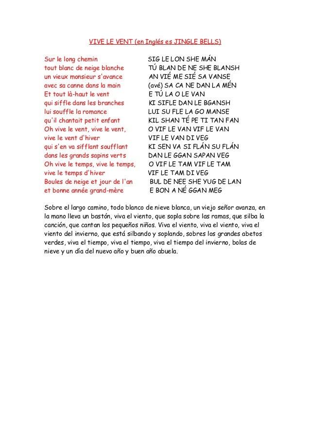 Vive Le Vent Letra Traduccion Y Pronunciacion