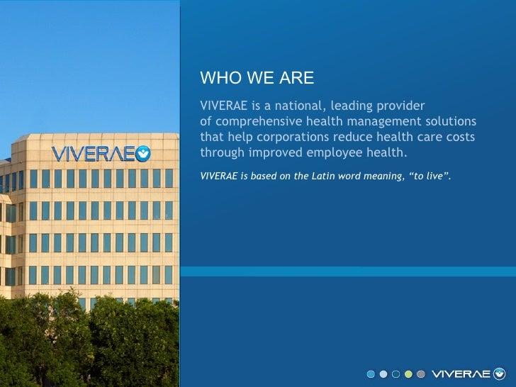 Viverae- Health Management and Wellness