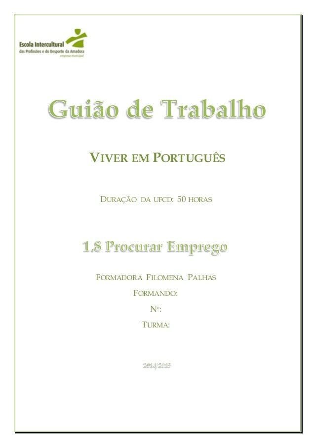 viver em português guião de trabalho