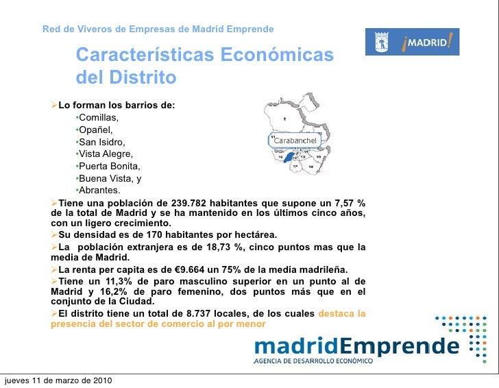 Vivero de empresas de carabanchel madrid emprende for Caracteristicas del vivero