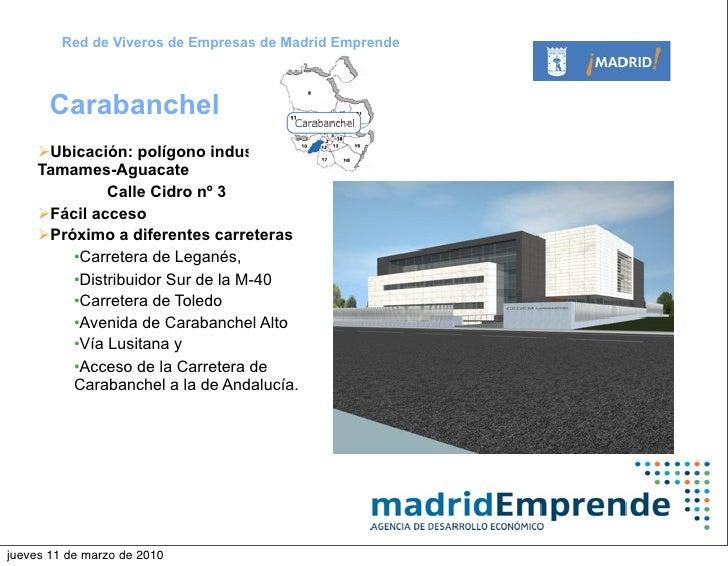 Vivero de empresas de carabanchel madrid emprende for Viveros madrid sur