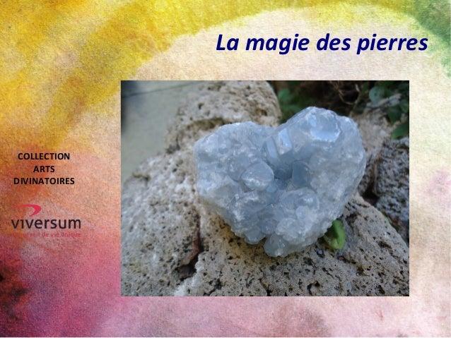 La magie des pierres COLLECTION ARTS DIVINATOIRES