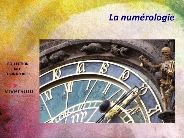 La numérologie COLLECTION ARTS DIVINATOIRES