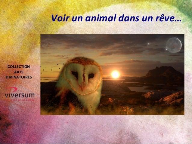 Voir un animal dans un rêve… COLLECTION ARTS DIVINATOIRES