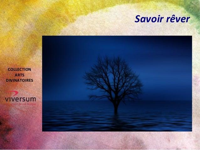 Savoir rêver COLLECTION ARTS DIVINATOIRES