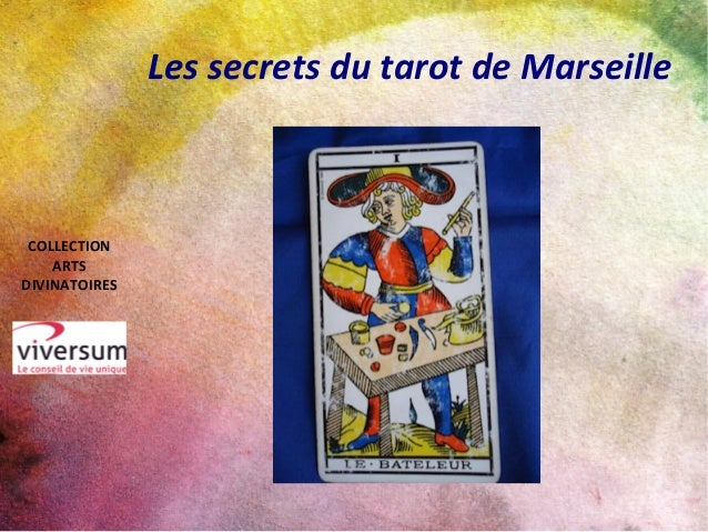 Les secrets du tarot de Marseille COLLECTION ARTS DIVINATOIRES