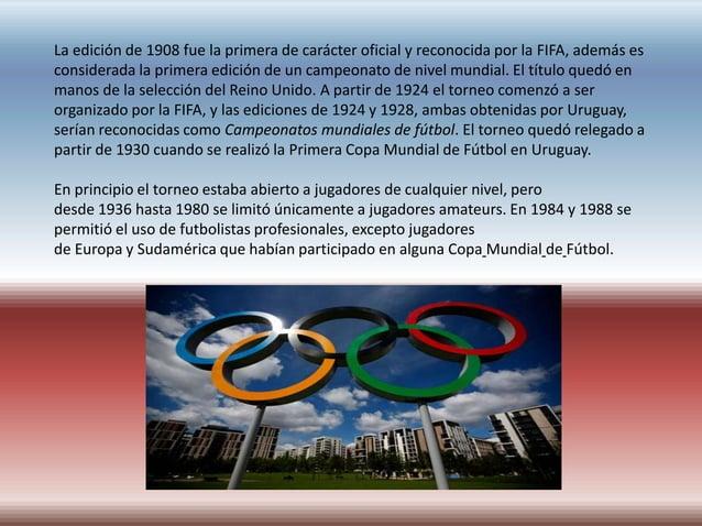 La incursión de la FIFA en los Juegos Olímpicos a partir de 1924 motivó la creación de un  torneo propio y de mayor nivel....