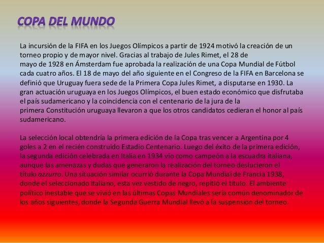 Brasil tendría el honor de llevar a cabo la primera edición de la Copa Mundial tras la  guerra en 1950. La gran fiesta que...